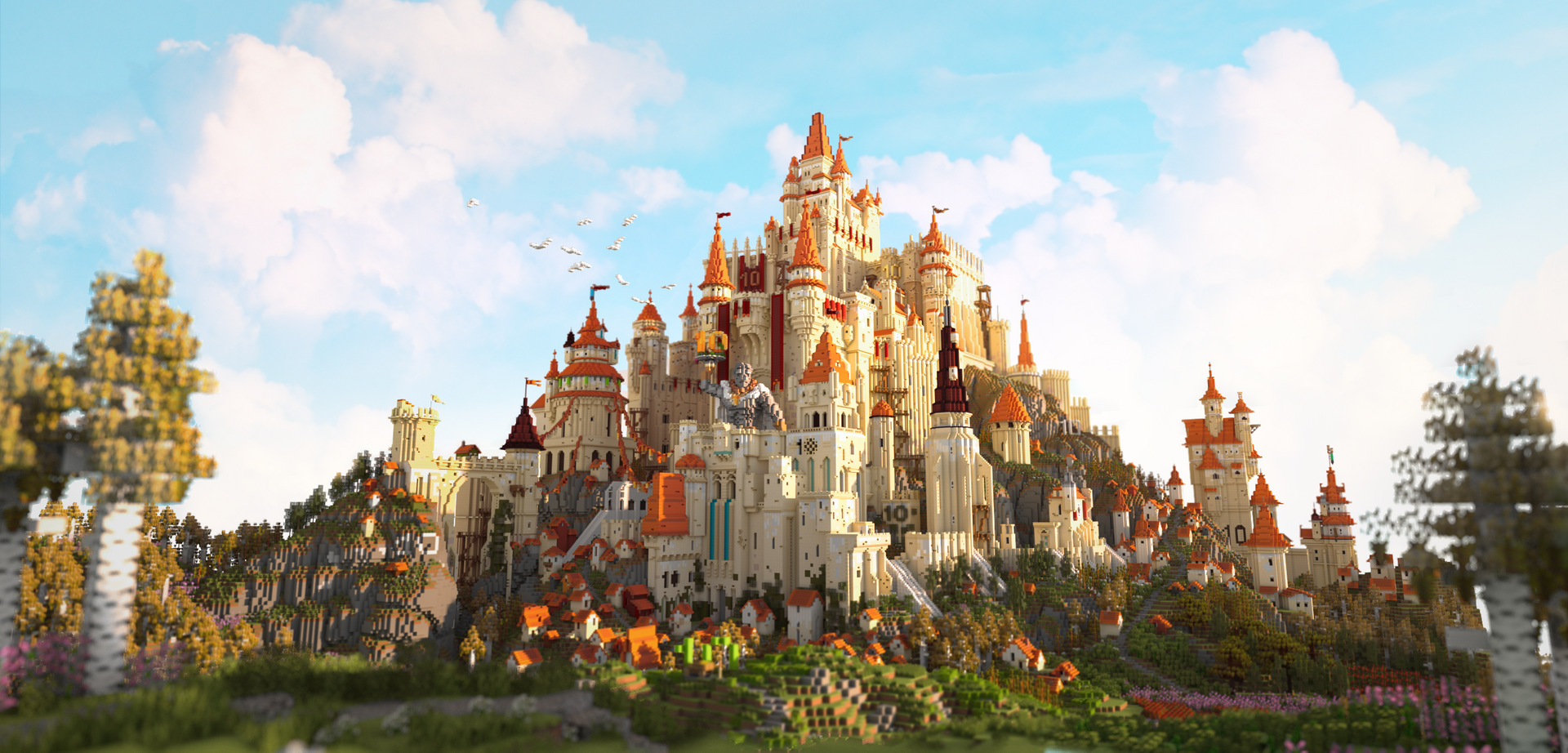 Minecraft 10 Years Of Minecraft Main Render