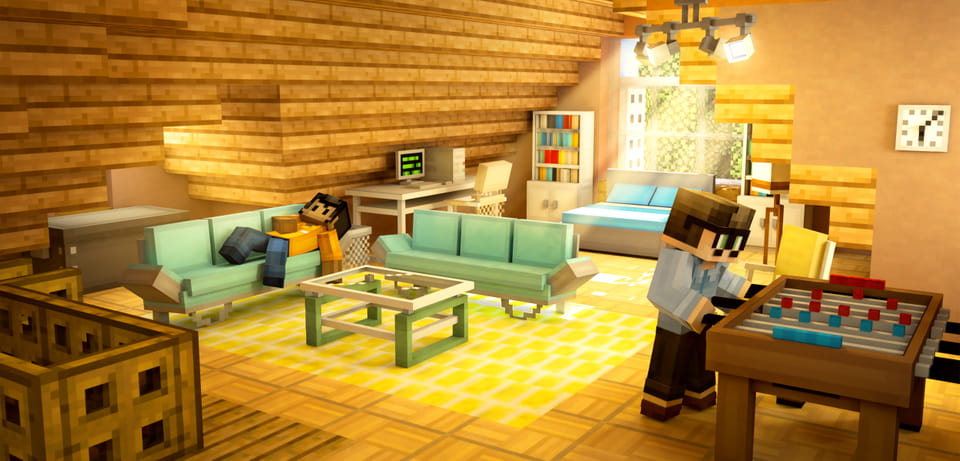 How To Build Modern Furniture In Minecraft Pe MCPE ADDON MODERN