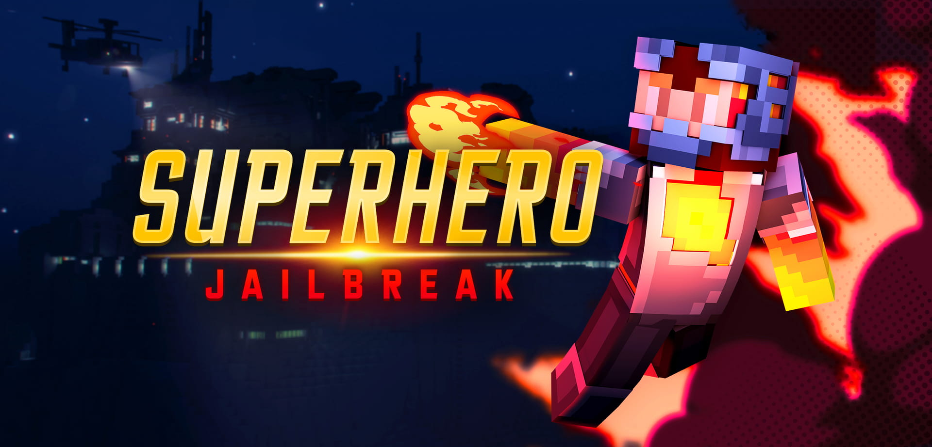 Minecraft Superhero Jailbreak Thumbnail